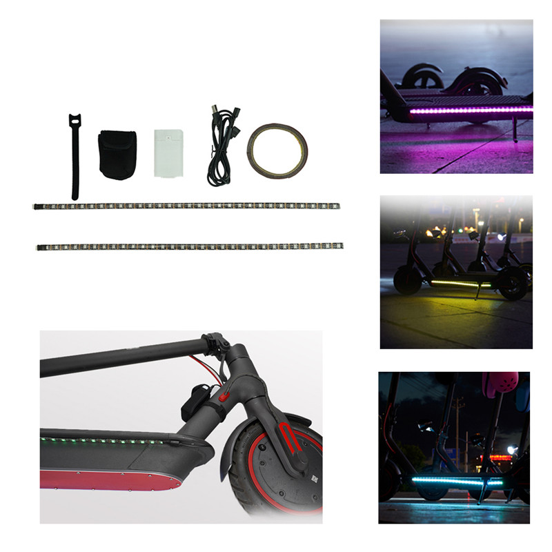 LED Light Strip Night Lamp Lights for Xiaomi M365 Electric S